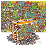 800Piece Jigsaw Puzzle Where's Wally (Waldo) Wild Wild West Hobby Home Decoration DIY