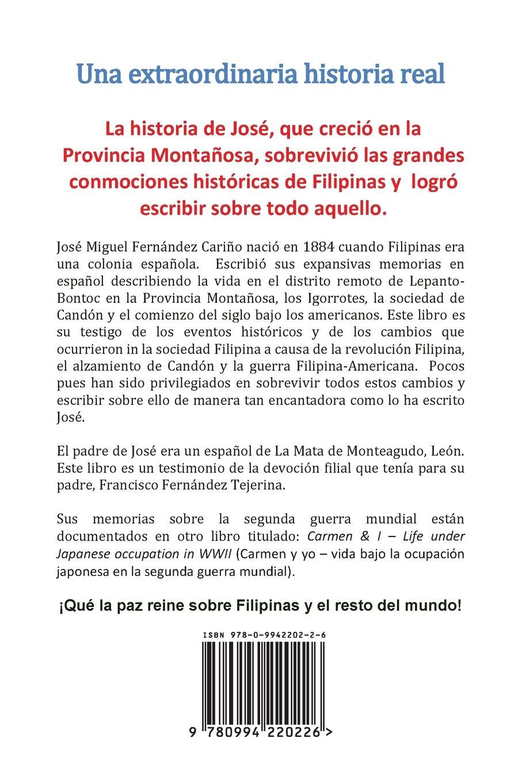 Cayan. Mis memorias: Memoirs of Jose Miguel C Fernandez: Amazon.es: M F Godinez, Jose Miguel C Fernandez: Libros