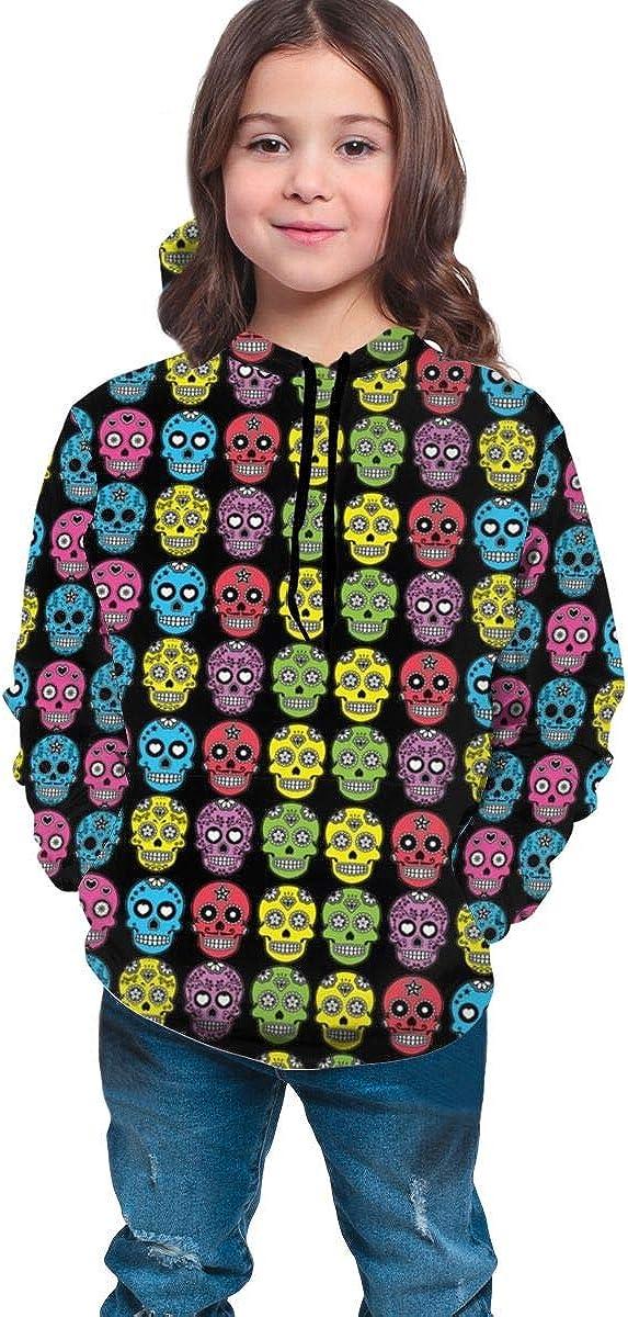 Hip-Hop Sweatshirts Pullover Winter Autumn Tops for Teen Girls Boys