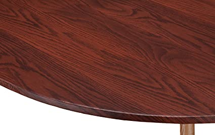 Amazon.com & Wood Grain Vinyl Elastic Table Cover