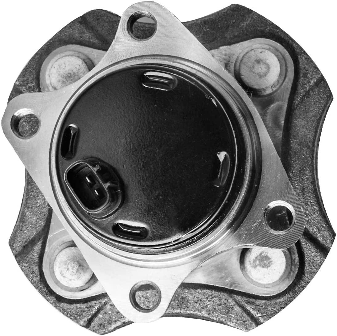 TUCAREST 512209 Rear Wheel Bearing and Hub Assembly Compatible 2004-2006 Scion xA xB 00-05 Toyota Echo 4 Lug W//ABS