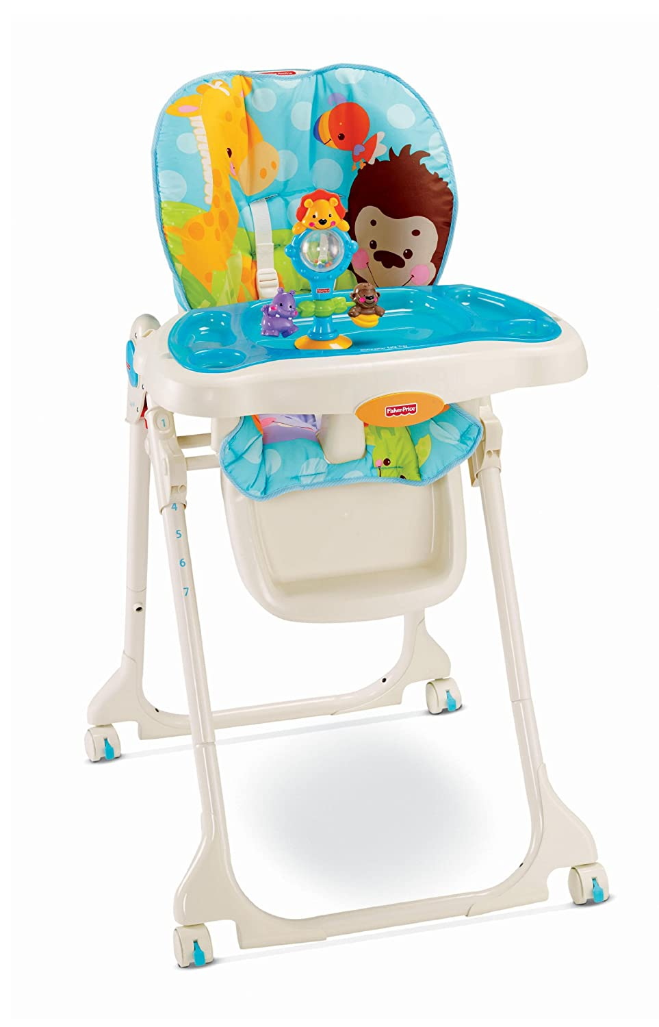 Fisher price precious planet high chair - Fisher Price Precious Planet High Chair 0