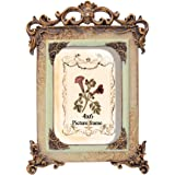 PETAFLOP 4x6 Picture Frames 4 by 6 Inch Vintage Picture Frame Friends Gift Photo Display 4x6