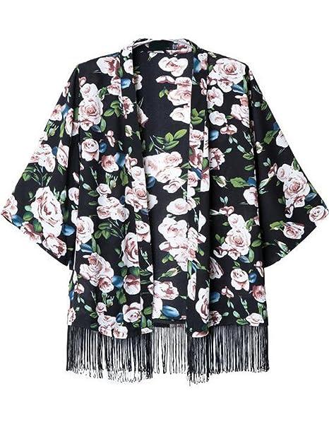 Sheinside - Camisas - Blusa - para mujer negro small