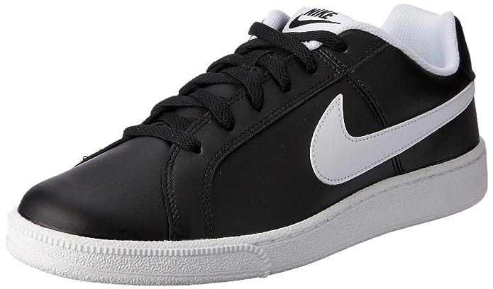 Nike Court Royale Sneakers Herren Schwarz mit weißen Streifen