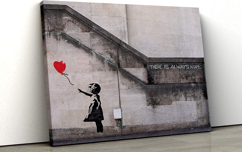 "GRAFFITI ART 91 x 61 cm 36/"" x 24/"" BALLOON GIRL BANKSY POSTER"