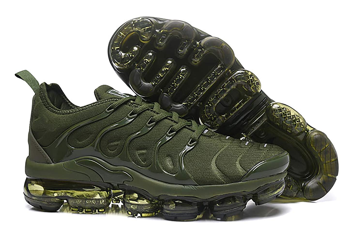 50a7ba286c Amazon.com | RUNSHOT Men's Air Vapormax Plus TN Running Shoe Basketball  Shoes -ArmyGreen | Fashion Sneakers