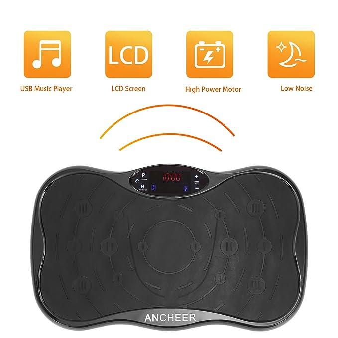 ancheer Mini Plataforma Vibratoria Fitness Home Vibration ...