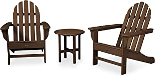 product image for Trex Outdoor Furniture Cape Cod 3-Piece Adirondack Chair Set with Side Table