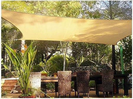 WGGOG El sombreado Exterior Red del Anti-Sol Sombra Lona Amarilla Toldos Toldos Carpa Netting 95% Protector Solar Pergola Coche Toldo for Patio terraza (Size : A-4 * 6m(13.1 * 19.7ft)): Amazon.es: Hogar