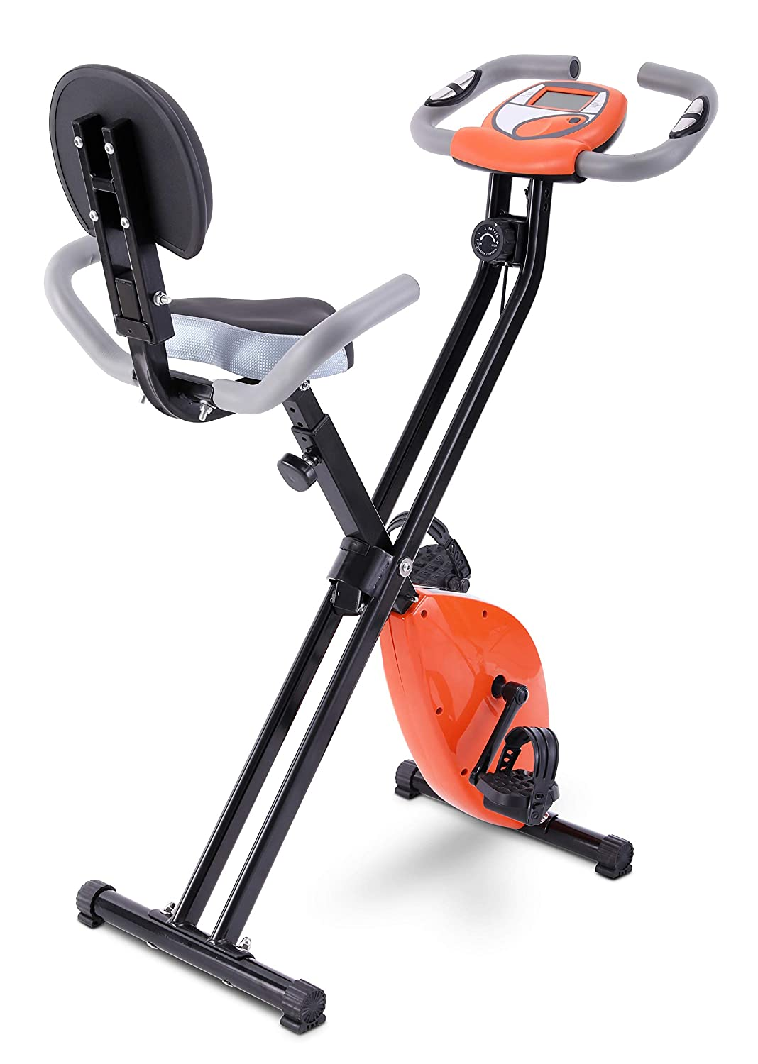 FITODO Upright Stationary Exercise Bike Magnetic Resistance Adjustable Smoothly and Quietly GOTODO