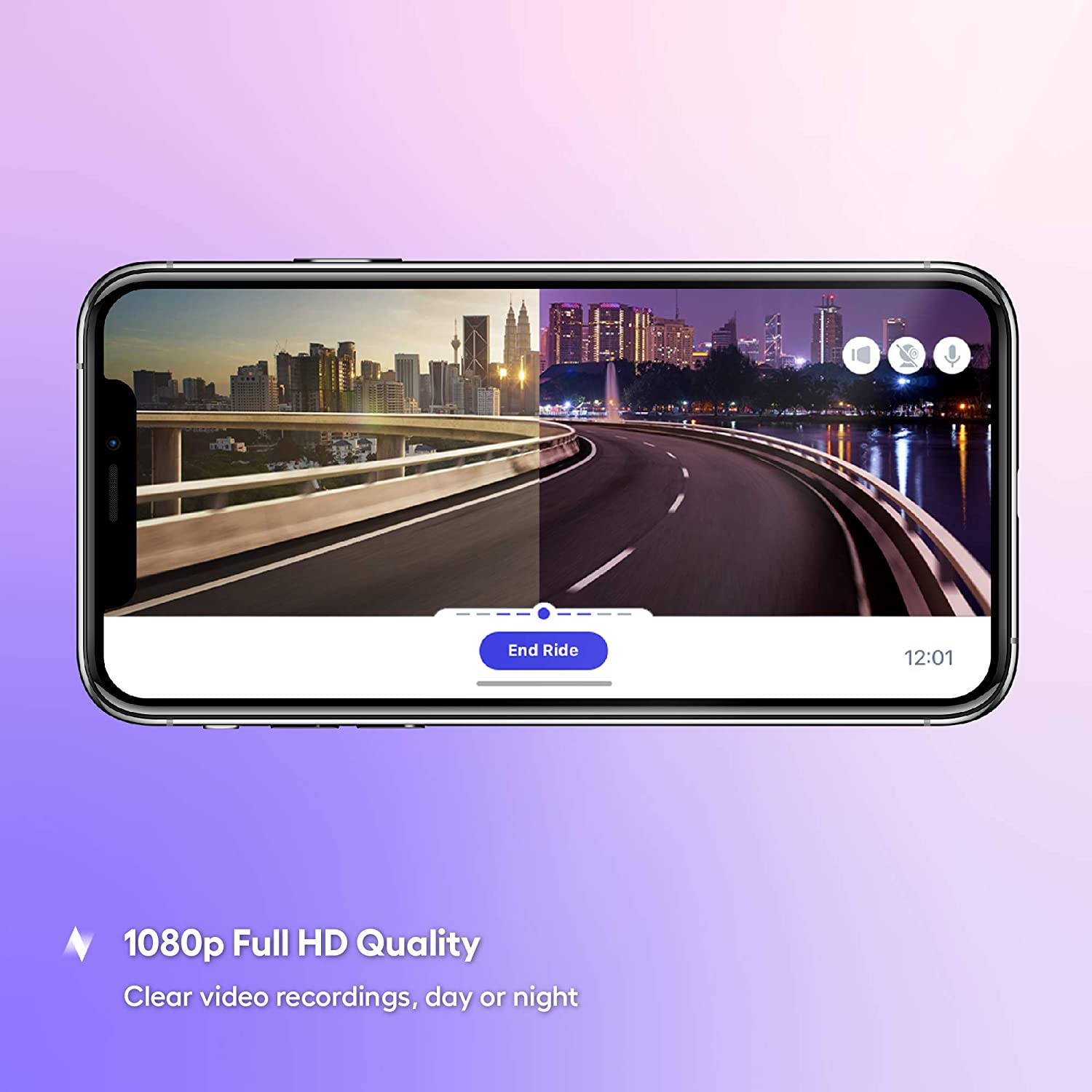 Cloud Storage for Video Clips and 32GB SD Card Included Nexar Dash cam with Suction Cup Small /& Discreet 155/° Wide Angle Car Camera G-Sensor and GPS Easy to Install Loop Recording 1080p Full HD