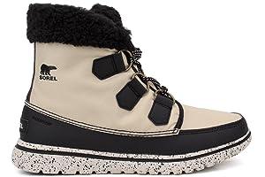 Sorel Cozy Carnival Boot - Women's Bisque / Black 5.5