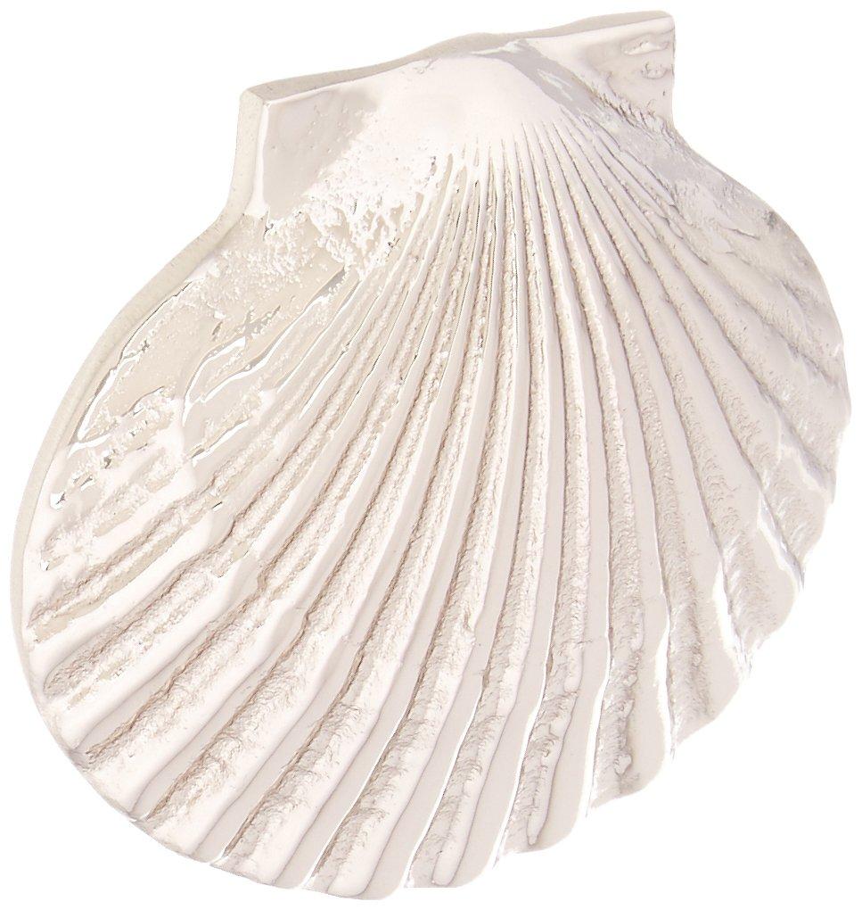 Bay Scallop Doorbell Ringer - Nickel Silver