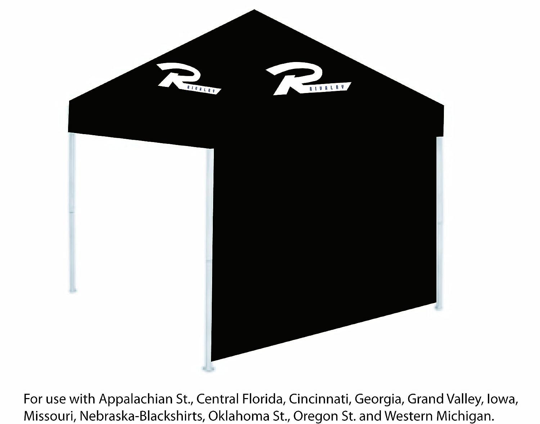 Rivalit-t RV510-1000 Canopy Seitenwand - Schwarz