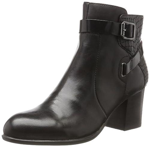 Gipsy II 1 Tumb Leat, Botas Chelsea para Mujer, Negro (Nero/Black), 37 EU Stonefly