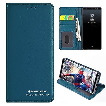 Amazon.com: Samsung Galaxy Note 8 Case, funda de piel ...