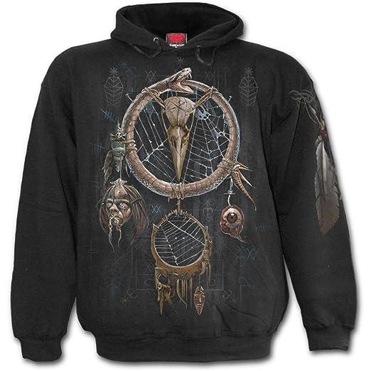 dacb4bac56cc Spiral Mens - Voodoo Catcher - Hoody Black at Amazon Men s Clothing ...