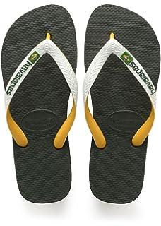 f933df5b93d99 Havaianas Flip Flops Adults Kids Brasil Logo  Amazon.co.uk  Shoes   Bags