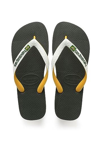 Havaianas Unisex Top Rubber Flip-Flops White European Size 39/40 - Brazil 37/38