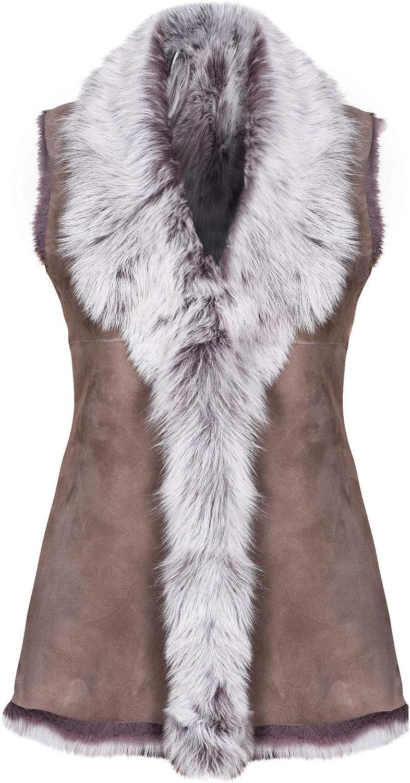 2020 Real Ostrich Fur Vest Jacket Women Winter Waistcoat Fashion Gilet Coat01007