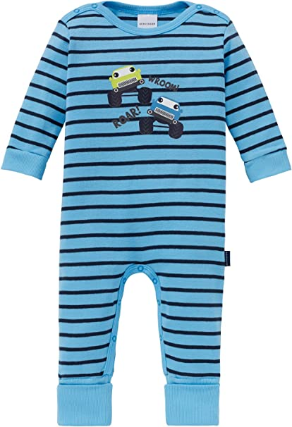 Schiesser Baby-Schlafanzug mit Druckmotiv
