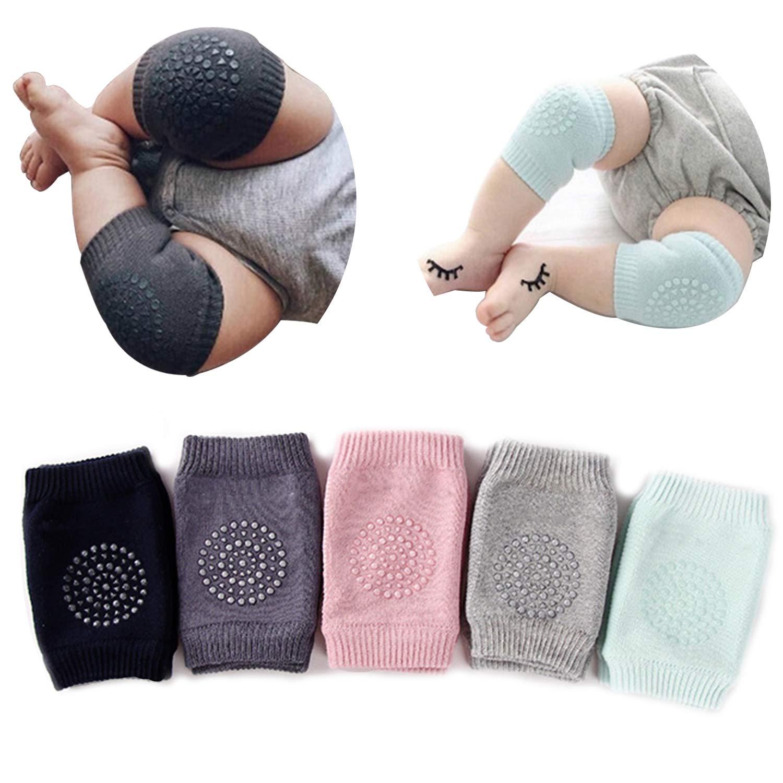 Safety Knee pad Elbow Vintage Crawling Walking Anti slip Infant Soft Cushion