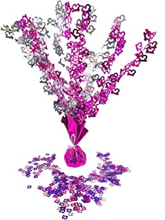13th Table Decorations Birthday Party Age Girls Pink Set Centrepiece Confetti