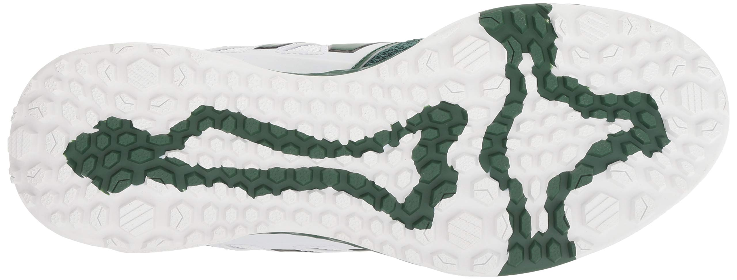 New Balance Men's 3000v4 Turf Baseball Shoe, Green/White, 5 D US by New Balance (Image #3)