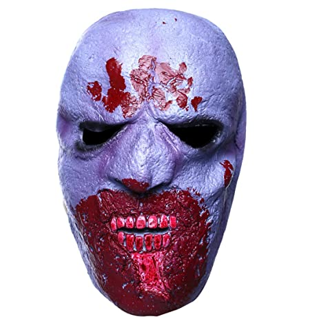 yufeng creepy halloween maskbloody teeth monterhalloween scary vampire monster latex masks
