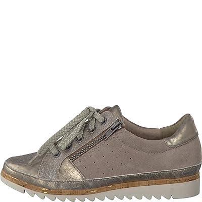 Mesdames Sneaker Jana 8-23706-355 sable largeur interchangeable H
