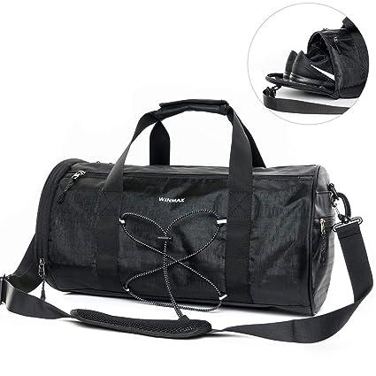 fefeef52718c Max Borsone da Palestra, Impermeabile, Sportivo, per Allenamento, Fitness,