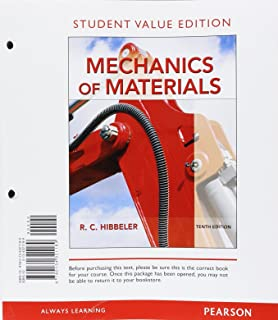 Mechanics of materials 9th edition russell c hibbeler mechanics of materials student value edition 10th edition fandeluxe Gallery