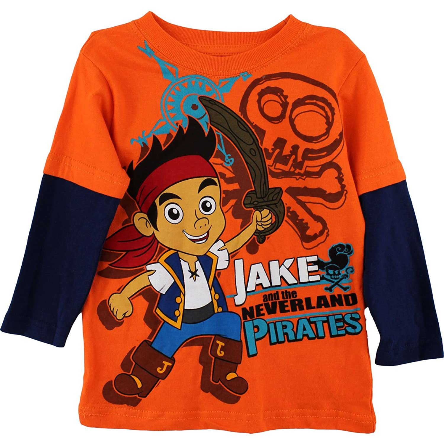 Disney Jake and the Never Land Pirates Layered Tshirt 2t4t 2T