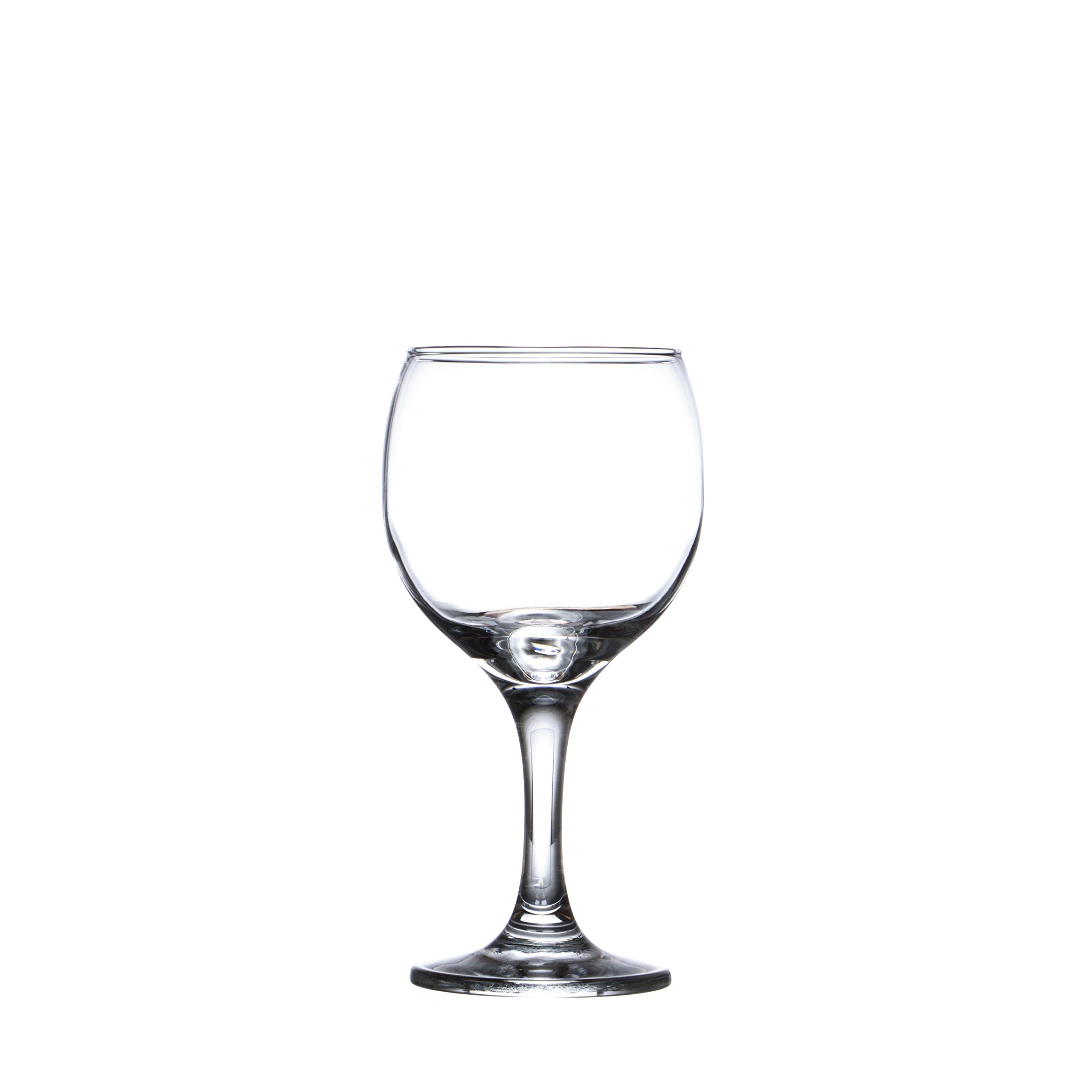 BISTRO 12-piece Wine Glasses Set (in 3 size), White, Red and Liquor Wine, Restaurant&Bar Quality, Durable Tempered Glass, Heavy Base, t.m. Pasabache (7 1/2 oz) by Pasabache (Image #7)