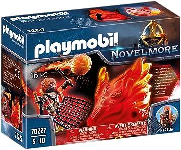 PLAYMOBIL - Novelmore Espíritu de Fuego Bandidos Burnham, para ...