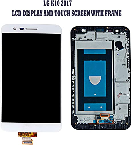 GSMCLUE Pantalla Completa De LG K10 2017 M250 (LCD + Tactil ...