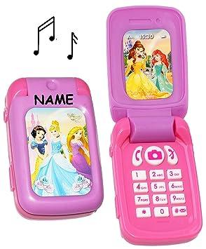 für Kinder // Mädch elektrisches Handy mit SOUND Prinzessin Disney Princess