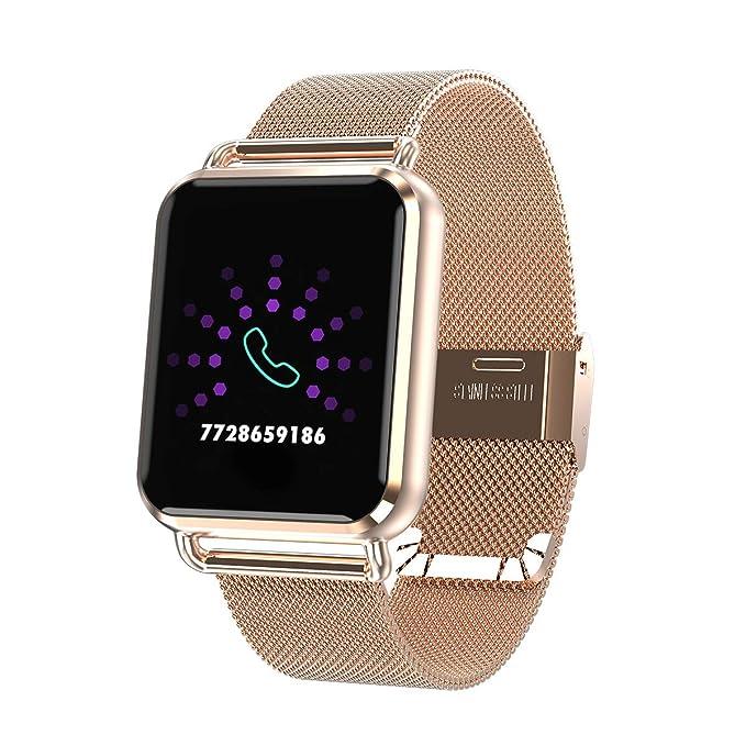 RanGuo Reloj Inteligente para Hombres Mujeres y niños, Deportes al Aire Libre Impermeable IP67 Smart Watch para Sistema Android y iOS, Apoyo ...