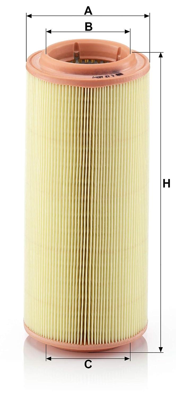 Originale MANN-FILTER Filtro Aria C 12 107//1 Per Automobili