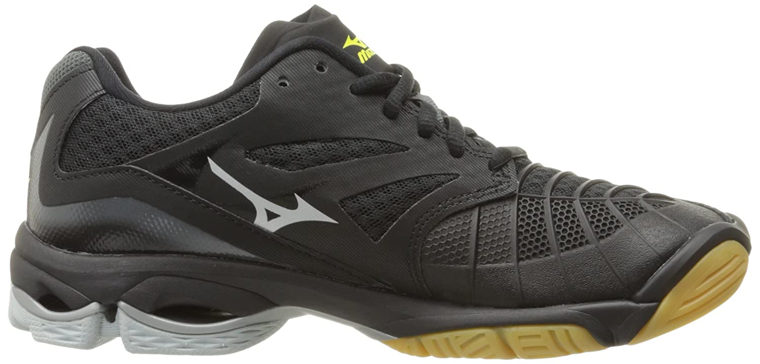Mizuno Women's Wave Lightning Z3 Volleyball US|Black/Silver Shoe B01N411VRY 6 B(M) US|Black/Silver Volleyball 8c605a
