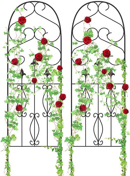 Amagabeli - Enrejado de jardín para plantas trepadoras, 152, 4 x ...