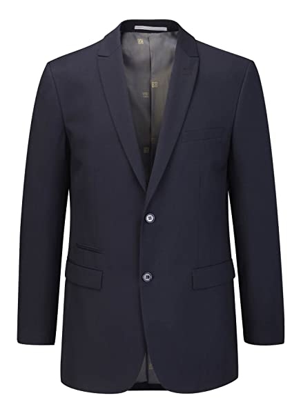4cb64018a460a2 SKOPES MADRID NAVY BLUE SUIT JACKET IN CHEST SIZE 34 TO 62: Amazon.co.uk:  Clothing
