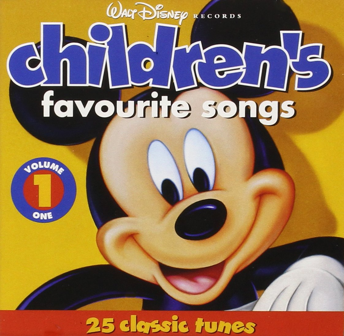 Disney Records Children's Favorite Songs (Vol. 1) by Walt Disney Records