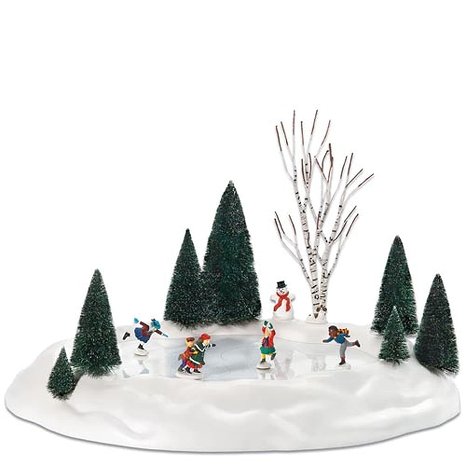 Amazon.com: Department 56 Animated Skating Pond: Home & Kitchen