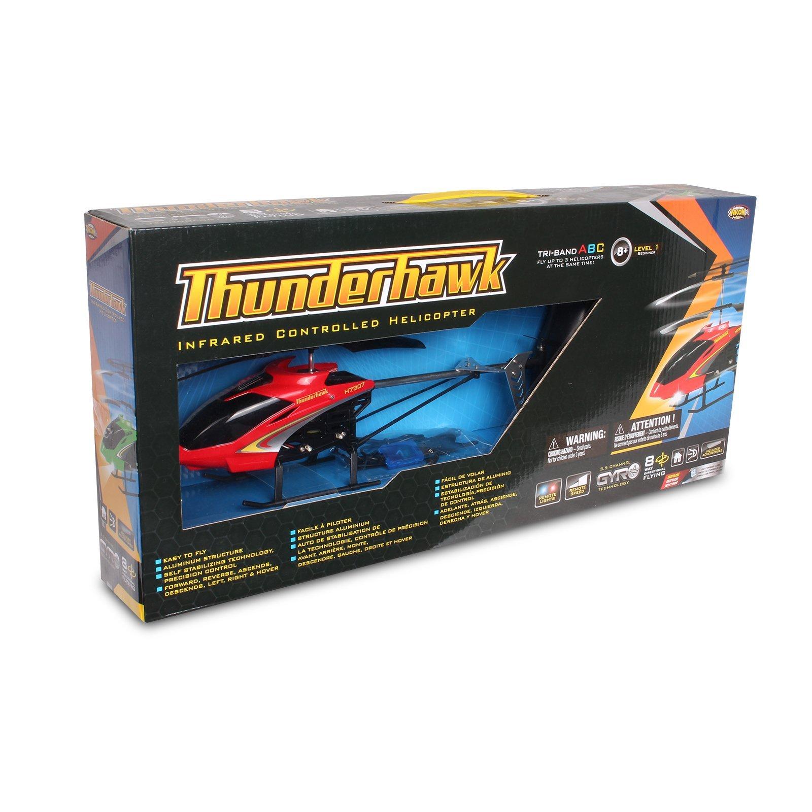 NKOK Air Banditz 3.5CH IR/USB Thunderhawk Remote Control Toy