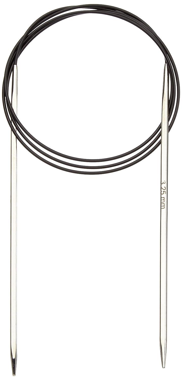 KnitPro 100 cm x 3.25 mm Nova Cubics Fixed Circular Needles, Shiny Brass