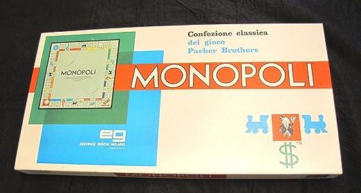 Amazon.com: Monopoli Board Game (Italian Edition): Toys & Games