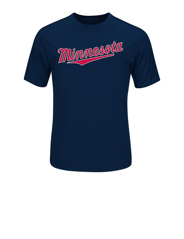 【激安セール】 MLB Minnesota Twins代替ロゴメンズ合成マスWordmark Minnesota Tシャツ、スモール B01CVGARA8、ネイビー B01CVGARA8, ギャラリーレア:d0db5c9f --- a0267596.xsph.ru