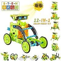 Kidpal Solar Powered Kit Robotics Science Kit for Kids 7 8 9 10 11 12 Year Old Boys...